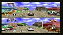 Lets Play Sega Rally on the Sega Saturn