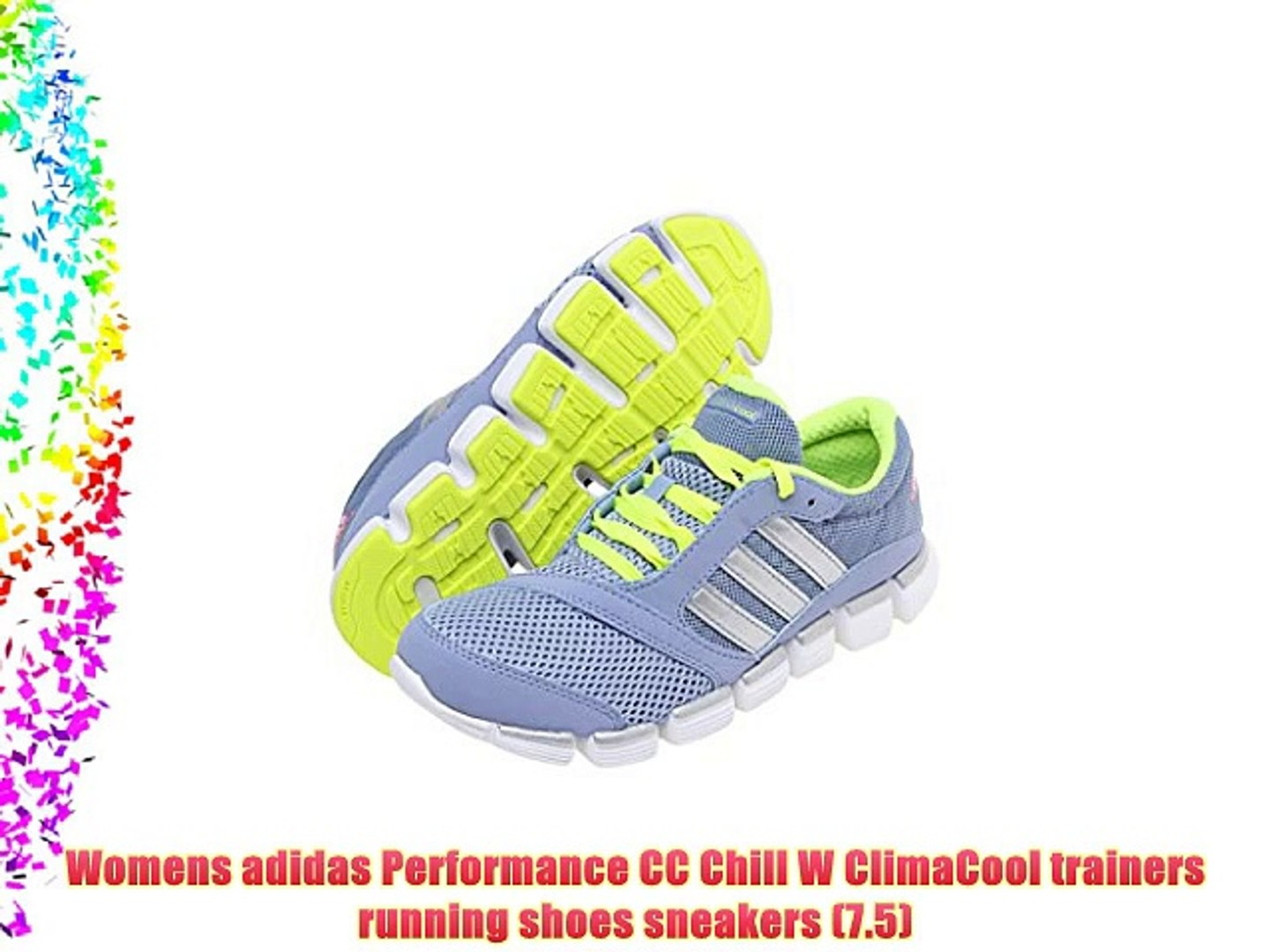 Womens adidas Performance CC Chill W ClimaCool trainers running ...