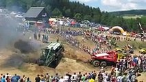 HOT crashes! The Best of Truck trial Extreme Mohelnice_Funny Video-Funny Clips