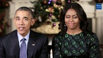 Obamas deliver White House Christmas message