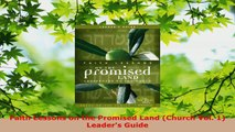 Read  Faith Lessons on the Promised Land Church Vol 1 Leaders Guide Ebook Free