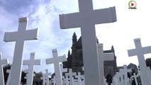 #Morbihan - 600 Croix blanches pour les agriculteurs suicidés - Marseille Bretagne Télé