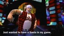 Wrestling Fight - Meet The Wrestler - Santa Claus (WWE 2K14)