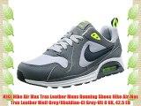 NIKE Nike Air Max Trax Leather Mens Running Shoes Nike Air Max Trax Leather Wolf Grey/Obsidian-Cl