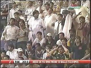 Abdul Razzaq Vs South Africa In Abu Dhabi UAE 31st oct 2010