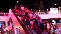 Escalator Pickpocketing in Vegas (SOCIAL EXPERIMENT) - Pranks on People - Funny Pranks - P