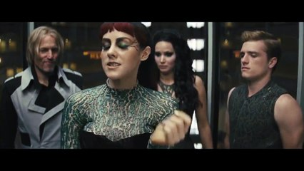 The Hunger Games: Catching Fire Movie CLIP #5 - Johanna in the Elevator (2013) Movie HD