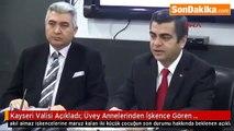 Kayseri'deki üvey anne dehşeti ile ilgili Kayseri valisi açıklama yaptı
