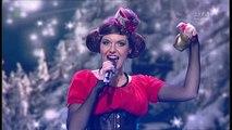 "Modesta Pastiche - Jingle Bells (cover) Występ z 25 grudnia 2015 r. - program ""Jaka to melodia?"" [HD]"