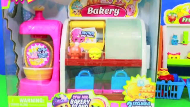 Shopkins Disney Frozen Kids Toby Shopkinz Blind Bag Collection Bakery Toy Review AllToyCollector