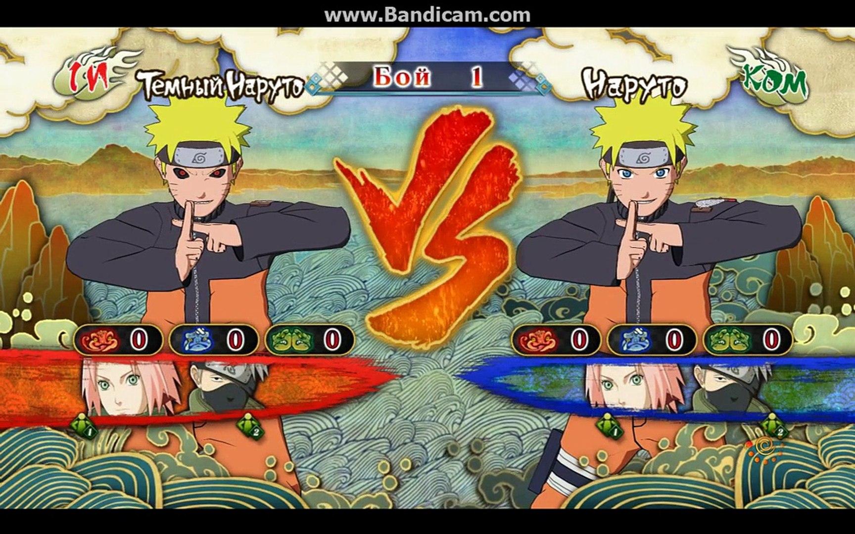MOD DARK NARUTO - NARUTO SHIPPUDEN Ultimate Ninja STORM 3 Full Burst