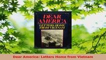 Read  Dear America Letters Home from Vietnam Ebook Free