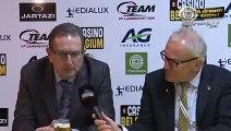 Georges Leekens na KSC Lokeren-RSC Anderlecht 1-1
