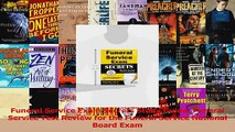 Funeral Service Exam Secrets Study Guide Funeral Service Test Review for the Funeral Download