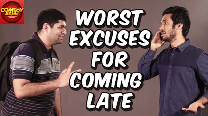 Top 5 Worst Excuses For Coming Late | Comedy Asia