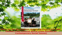 Download  Bravo for the Marshallese Regaining Control in a PostNuclear PostColonial World Case PDF Free
