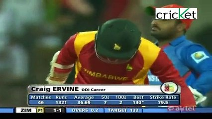 Zimbabwe Vs Afghanistan | 1st ODI | – 25th Dec, 2015 | Highlights Part 3 of 4