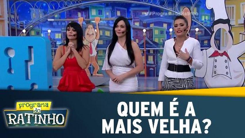 Quem é a mais velha? Renata, Valentina ou Pavorô?