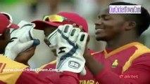 Fall Of wickets Of Afganistan Innings :- Zimbabwe Vs Afghanistan 1st ODI Dec 25, 2015