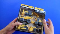 Learning Construction Machine Names and Sounds for kids with Toy State Caterpillar Construction Mini Machine
