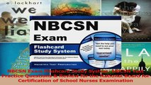 NBCSN Exam Flashcard Study System NBCSN Test Practice Questions  Review for the National PDF