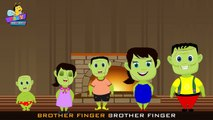 The Finger Family Frankenstein Family Nursery Rhyme | Frankenstein Finger Family Songs