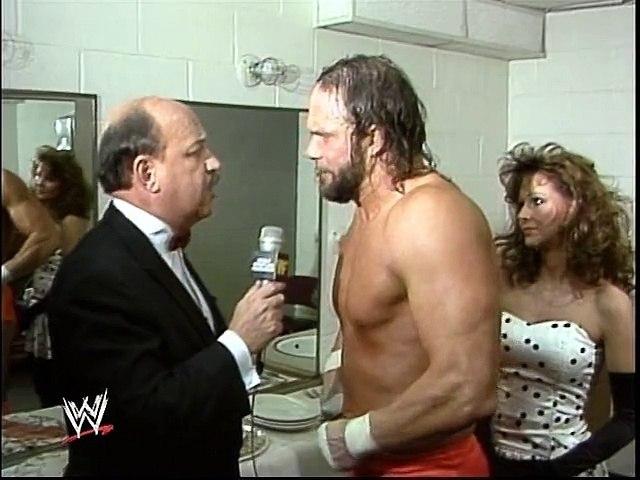 WWF Royal Rumble 1989 - Randy Savage Post-Match Interview