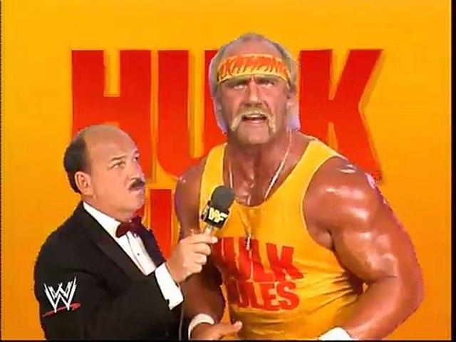 WWF Royal Rumble 1989 - Hulk Hogan Interview