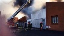 Avion : gros incendie dans un magasin de meubles en centre-ville