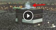 Allah ka Miracle - Latest Miracle - Angels in Makkah on Khana Kaaba Roof