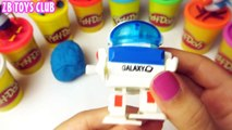 mickey mouse Peppa Pig Play Doh Surprise eggs Mickey Mouse play doh