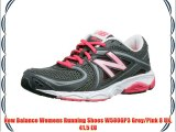 New Balance Womens Running Shoes W580GP3 Grey/Pink 8 UK 41.5 EU