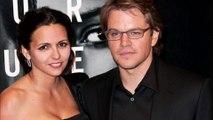 Matt Damon married with  his Fan (Luciana Bozán  Barroso)