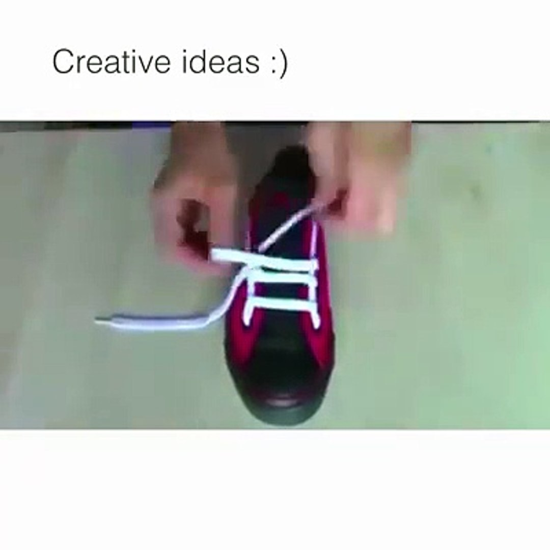 How to tie shoe laces in many styles