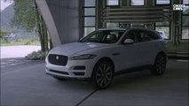 Jaguar F-Pace 2016 SUV test drive / All new Jaguar F PACE 2017