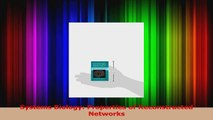 Read  Systems Biology Properties of Reconstructed Networks Ebook Online