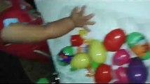 Surprise Eggs Frozen Play Doh Kinder Surprise Egg Learn A Word! Spelling Vegetables! Lesson 13