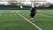 'How To Run Faster' - Speed And Agility Drills For Football Players
