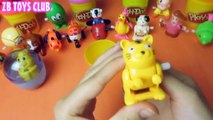 kinder surprise eggs Play Doh Peppa Pig Kinder surprise eggs Spongebob peppa pig