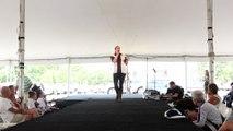 Lydia Tate sings 'Jailhouse Rock' Elvis Week 2015