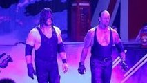 WWE RAW, The Undertaker -u0026 Demon Kane return and confront the Wyatt family, Nov 9, 2015