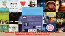 PDF Download  Wiersbe Bible Commentary 2 Vol Set wCD Rom Wiersbe Bible Commentaries Read Full Ebook
