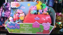 Peppa Pig Peppa Pig Car Peppa Pig Picnic Adventure Car Peppa Pig Toy Peppa Chef Peppa