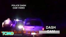 Police dash cam footage compilation (part 1): police shootings, cops saving and more - TomoNews