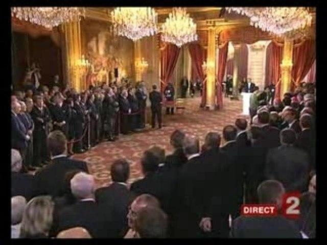 Passation de pouvoir Chirac Sarkozy (7/15)