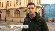 Manchester United stars offer hotel to homeless - BBC News