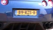 [4K] 18x Nissan GT-R R35 + 12x R33 Skyline Massive Accelerations!
