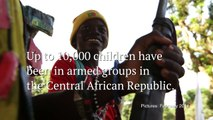 Central African Republic: Child soldiers learning to be children again - BBC News