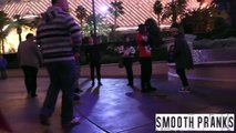 Guy Gets Knocked Out in Vegas Prank
