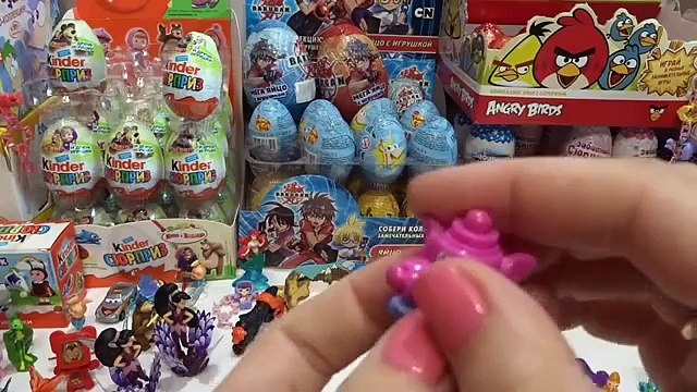 Surprise eggs, Маша и Медведь Masha and the Bear Masha i Medved FROZEN Cars Disney HELLO KITTY